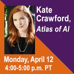 Webinar with Kate Crawford