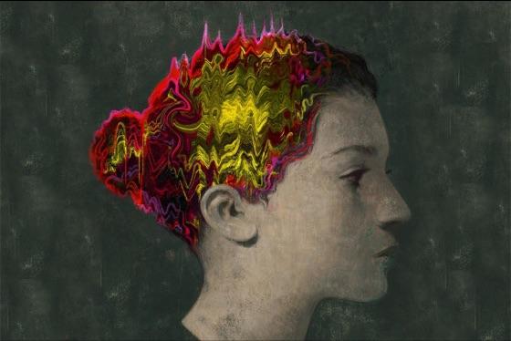 Chemo brain illustration