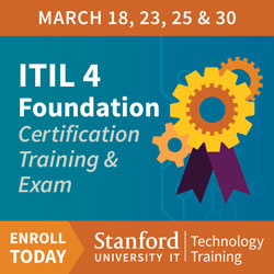 Tech Training Ad - ITIL 4