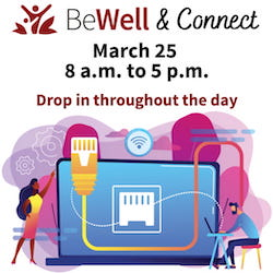 BeWell & Connect: March 25