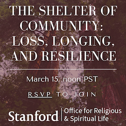 The Shelter of Community event
