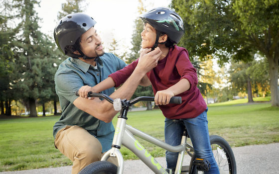 kid's bike helmet
