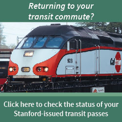 Stanford-issued transit passes