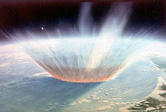 The dinosaur-killing asteroid