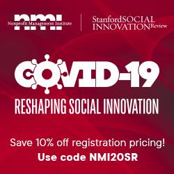COVID-19: Reshaping Social Innovation