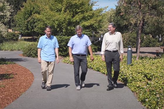 Three Stanford professors