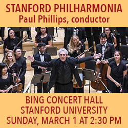 Stanford Philharmonia March 1