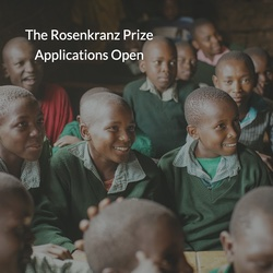 2021 Rosenkranz Prize applications