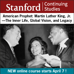 Stanford Continuing Studies MLK course