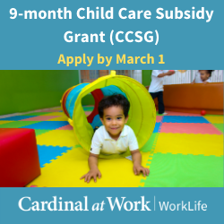 Child Care Subsidy Grant (CCSG)