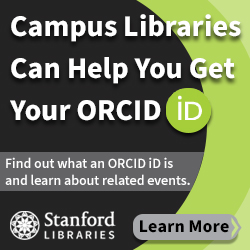 Stanford Libraries - ORCID IDs
