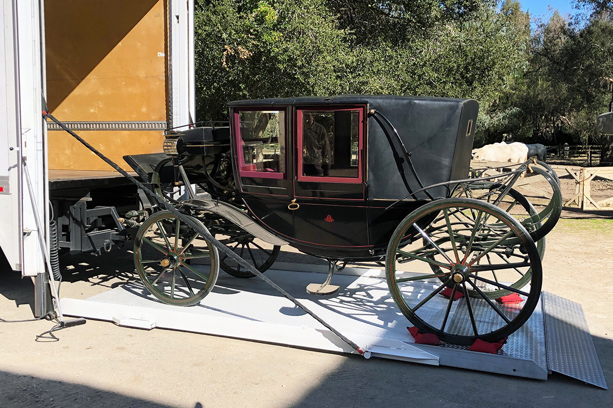 Historic carriage