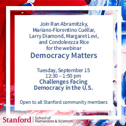 Democracy Matters event September 15