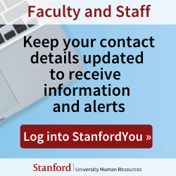 Update your contact info in StanfordYou