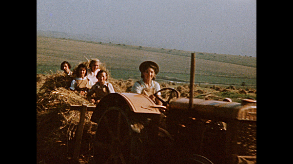 Land Girls on the Downs