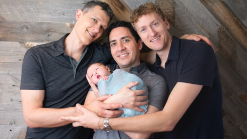 Gay poly throuple makes history, lists 3 dads on a birth certificate