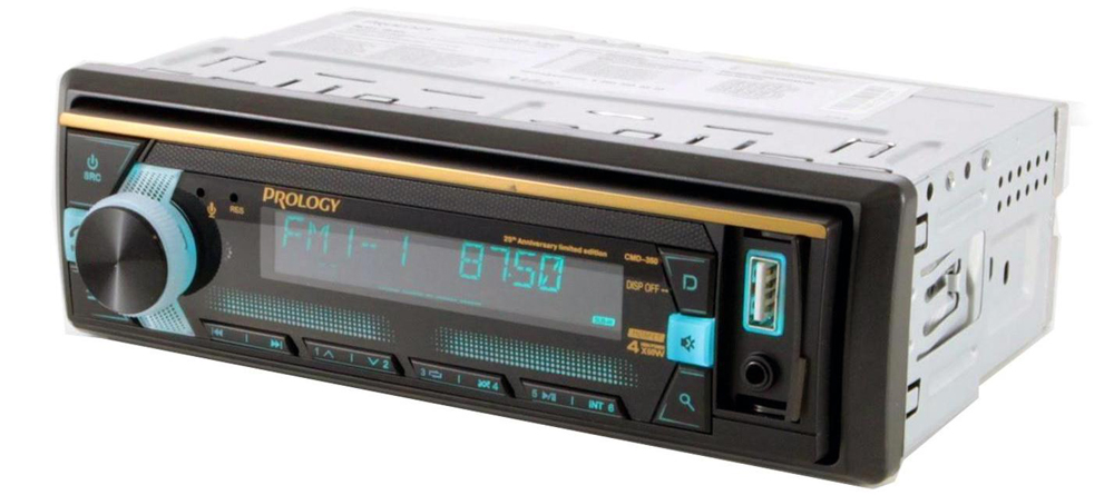 PROLOGY CMD-350 FM/USB/BT ресивер MOSFET с DSP процессором и управлением со смартфона Androin или iOS