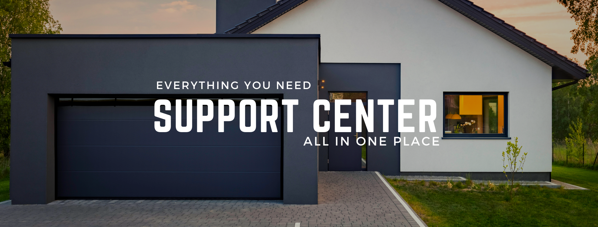 Support Center Banner