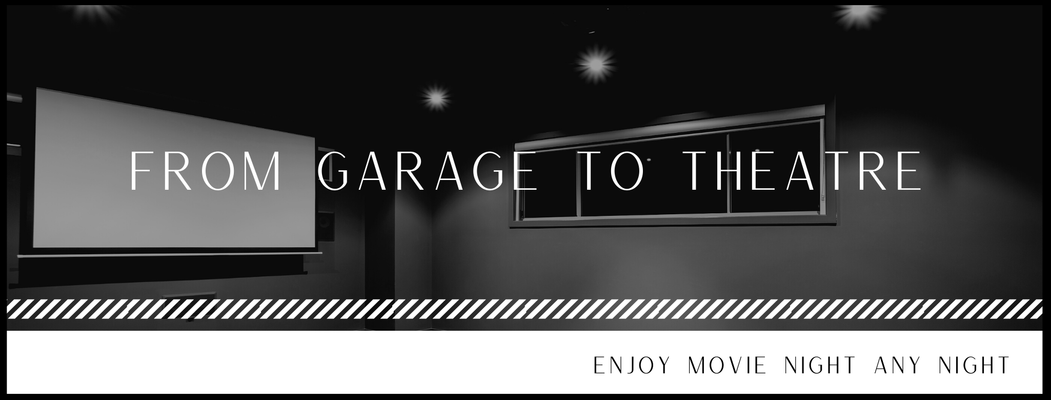 FROM GARAGE TO THEATRE BANNER