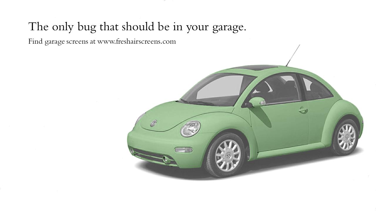 Garage Screen Ad