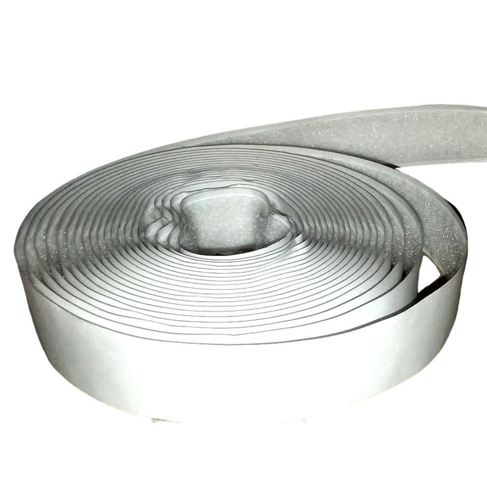 White Adhesive Loop, 10'
