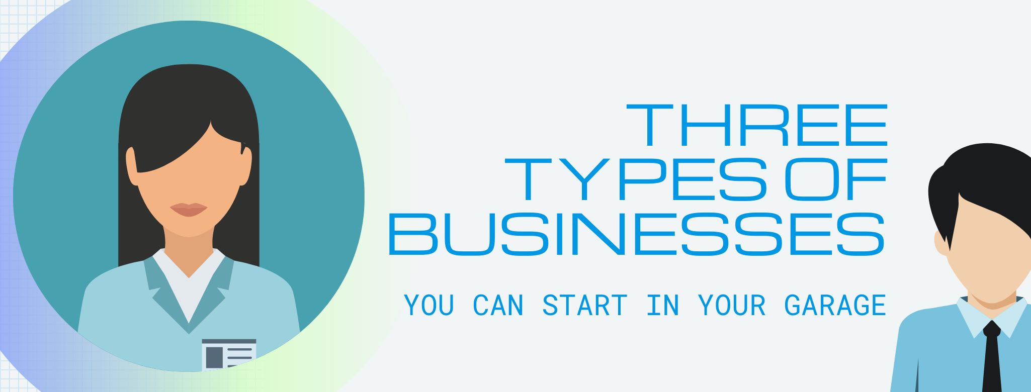 3 types of businesses banner