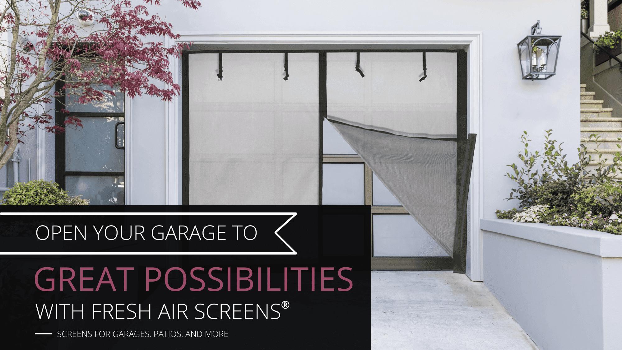 Fresh Air Screens, Inc. Home Banner