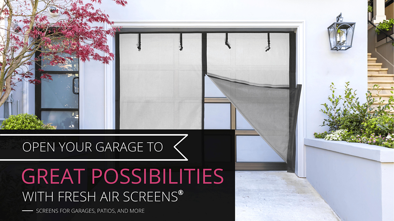 Fresh Air Screens, Home Banner