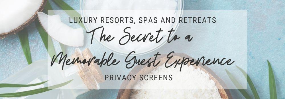 Spa Resort Banner