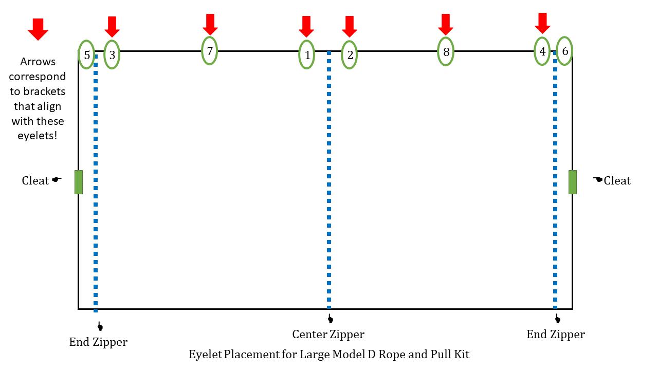 Large Model D Graph