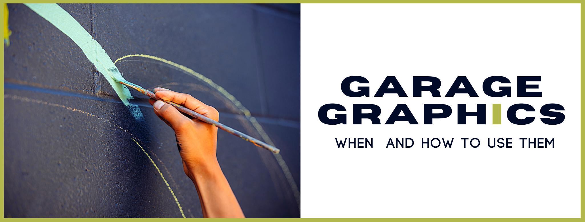 Garage graphics banner