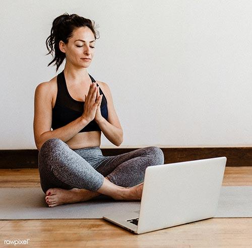 Lezioni di yoga a casa