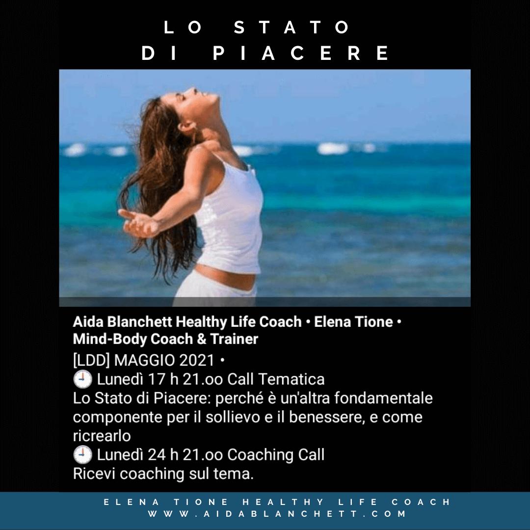 STATO DI PIACERE   VULVODINIA   Elena Tione Healthy Life Coach