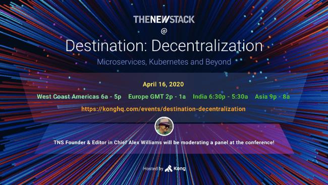 Destination: Decentralization // APRIL 16, 2020//VIRTUAL @ 6AM - 5PM PDT Destination: Decentralization