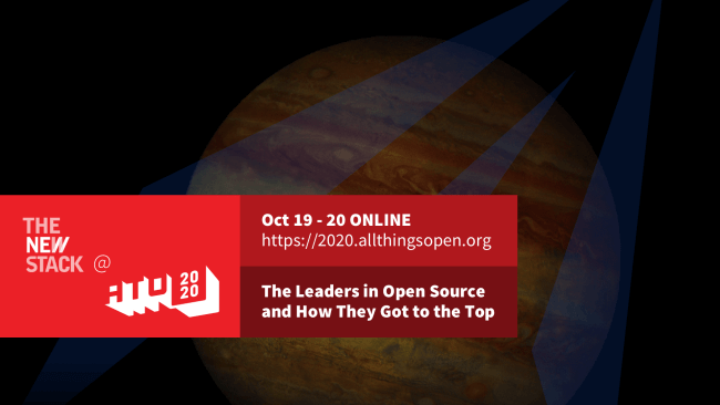 All Things Open // OCT. 19-20 //VIRTUAL