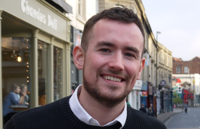 Local Green campaigner Tom Hathway wants to hear your views
