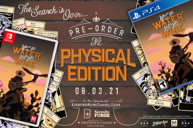 Where the Water Tastes Like Wine Physical Edition Launching Tomorrow