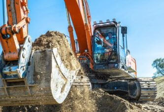 Conservation project on Danube River made easier with Hitachi Zaxis-7 excavator