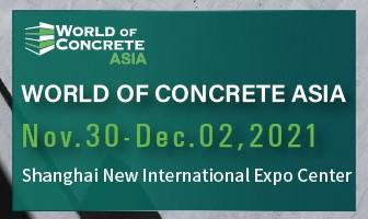 World of Concrete Asia 2021
