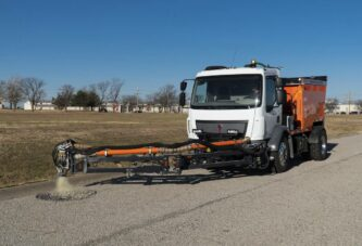 Bergkamp launches new SP5E Spray Injection Pothole Patcher