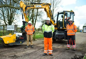 Tarmac puts the new JCB PotholePro to the test in Rutland