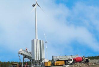 Kymppibetoni Oy chooses Rapidbatch Mobile Concrete Plant for Wind Farm Foundations