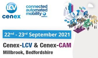 Low Carbon Vehicle Cenex-LCV2021 / Connected Automated Mobility Cenex-CAM2021 - UK