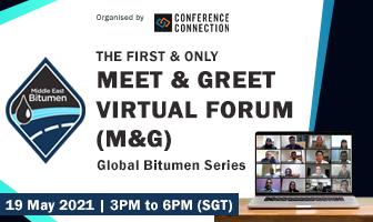 Middle East Bitumen Meet & Greet Virtual Forum