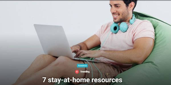 image 7 stay at home resources