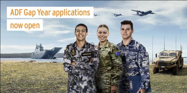 Image: ADF Gap Year applications now open