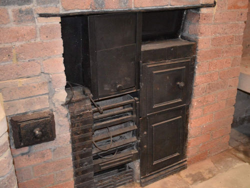 Original range oven from Saltaire house
