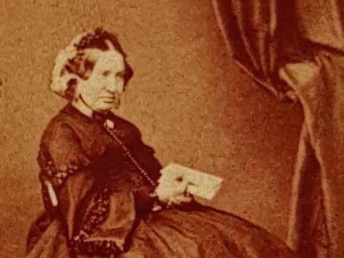 Lady Caroline Salt in later life