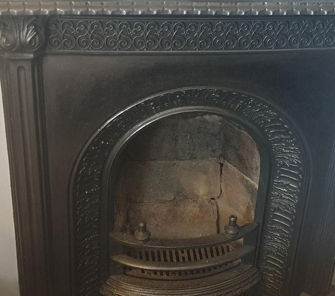 Bedroom Fireplace - Albert Road