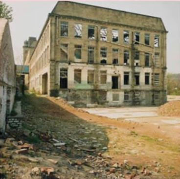 Mill building near New Mill, now Riverside court residences, 1993